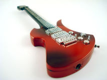 Guitar. Rock guitar royalty free stock photo