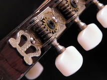 Guitar. A close-up of a guitar Royalty Free Stock Photos