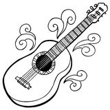 Guitar. An image of a guitar Royalty Free Stock Image