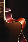 Guitar. The shape of a guitar Royalty Free Stock Images