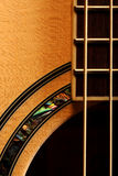 Guitar. The shape of a guitar Royalty Free Stock Photography