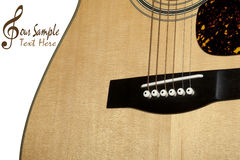 Guitar. Royalty Free Stock Photography