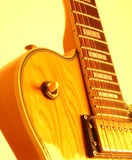 Guitar. Hot guitar from the 70 's Royalty Free Stock Photography