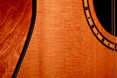 Guitar. The shape of a guitar Stock Photography