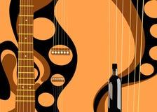 Guitar stock illustration