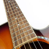 Guitar. Close-up of guitar with cool strings Royalty Free Stock Photos