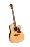 Guitar. The great sound of acoustic guitar Royalty Free Stock Images