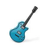Guitar. Illustration of a guitar. Vector stock illustration