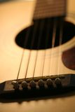 Guitar. Close-up Royalty Free Stock Image