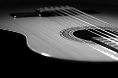 Guitar. Spanish Guitar stock image