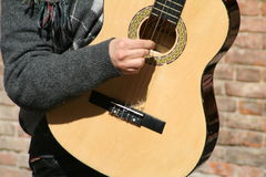 Guitar. Musical Instruments stock photo