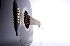 Guitar. Isolated on white background stock image
