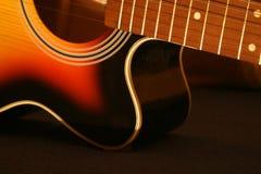 Guitar. Acoustic guitar Royalty Free Stock Photo