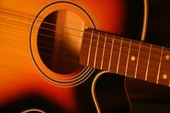 Guitar. Acoustic guitar Royalty Free Stock Image
