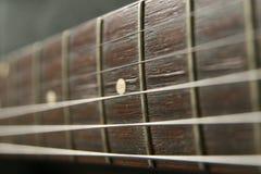 Guitar. A close up photo of a guitar royalty free stock photos