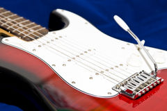 Guitar. Musical instrument guitar,string musical instrument Royalty Free Stock Image