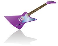 Guitar. Pattern of color electric guitar for design use Stock Photography