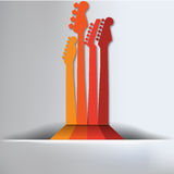 Guitar Abstract Background. For Print or Web Vector Illustration