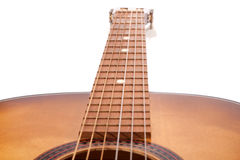 Guitar acoustic Royalty Free Stock Images