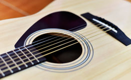 Guitar Acoustic Royalty Free Stock Photography