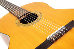 Guitar acoustic musical instrument Royalty Free Stock Photos