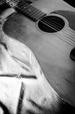 Guitar acoustic. Royalty Free Stock Photo