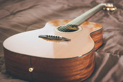 Guitar. Acoustic guitar. Perfect for musical Bossa or soft music Stock Photo