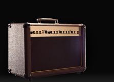 Guitar amp Royalty Free Stock Photos