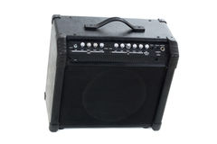 Guitar amp background Royalty Free Stock Photo