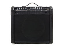 Guitar amp background Stock Photo