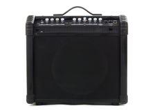 Guitar amp background Stock Photo