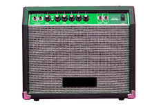 Guitar amp Royalty Free Stock Photo