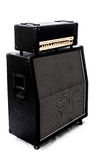 Guitar Amp stack left Angle Stock Images