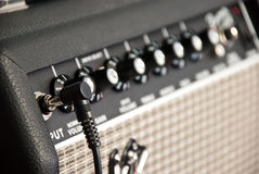 Guitar amplifier Stock Image