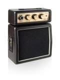 Guitar amplifier. Stock Photo