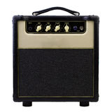 Guitar amplifier. Isolated on white royalty free stock photo