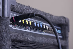 A guitar amplifier Royalty Free Stock Images