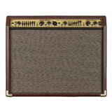 Guitar amplifier acoustic Stock Photo