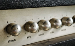 Guitar amplifier Royalty Free Stock Images