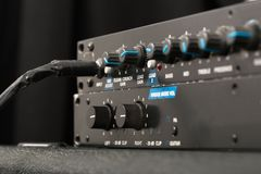 Guitar Amplifier Detail Royalty Free Stock Photo