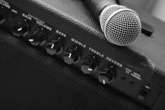 Audio amplifier Royalty Free Stock Photos