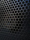 Guitar amplifier speaker with grill detail Royalty Free Stock Photos