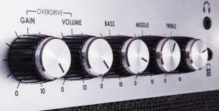 Guitar amplifier Stock Photography
