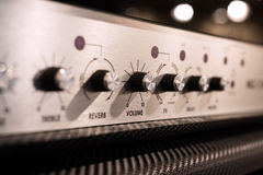 Guitar Amplifier Royalty Free Stock Photos