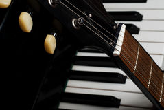 Free Guitar And Piano Royalty Free Stock Images - 21738539