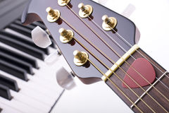 Free Guitar And Piano Stock Photography - 7088812