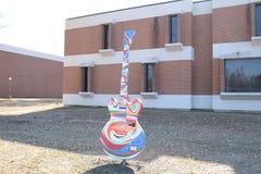 Free Guitar At The University Of Memphis Music Center Royalty Free Stock Photos - 107215638