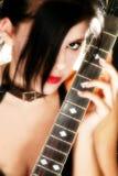 Guitar Babe stock photos