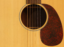 Guitar background Stock Image