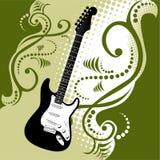 Guitar background Stock Image
